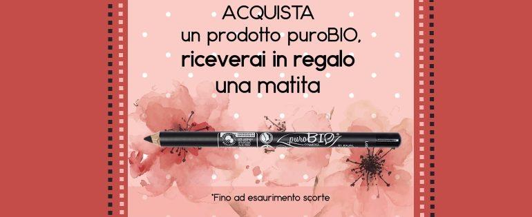 locandina promozione matita purobio pink