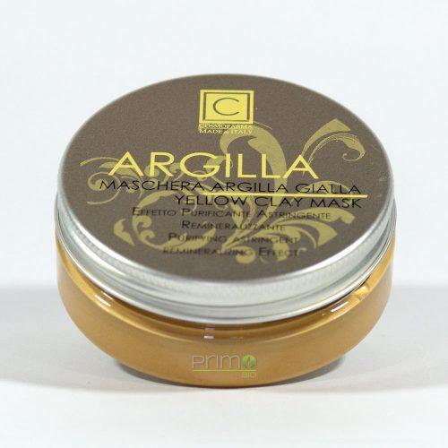 Maschera Argilla Gialla per pelle grassa