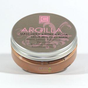 Maschera Argilla Rosa per pelle sensibile