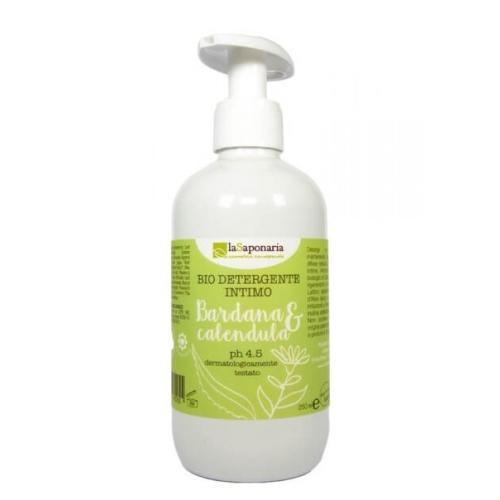 bio detergente intimo bardana e calendula la saponaria