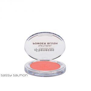 Blush colorati in polvere compatta Benecos