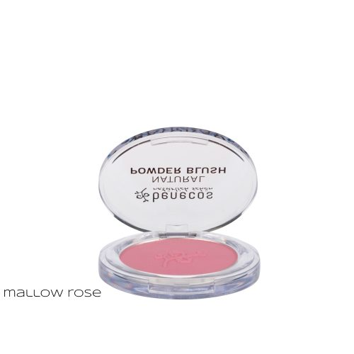 Blush colorati in polvere compatta