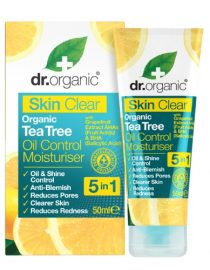 Crema Tea Tree acne Skin Clear Dr Organic