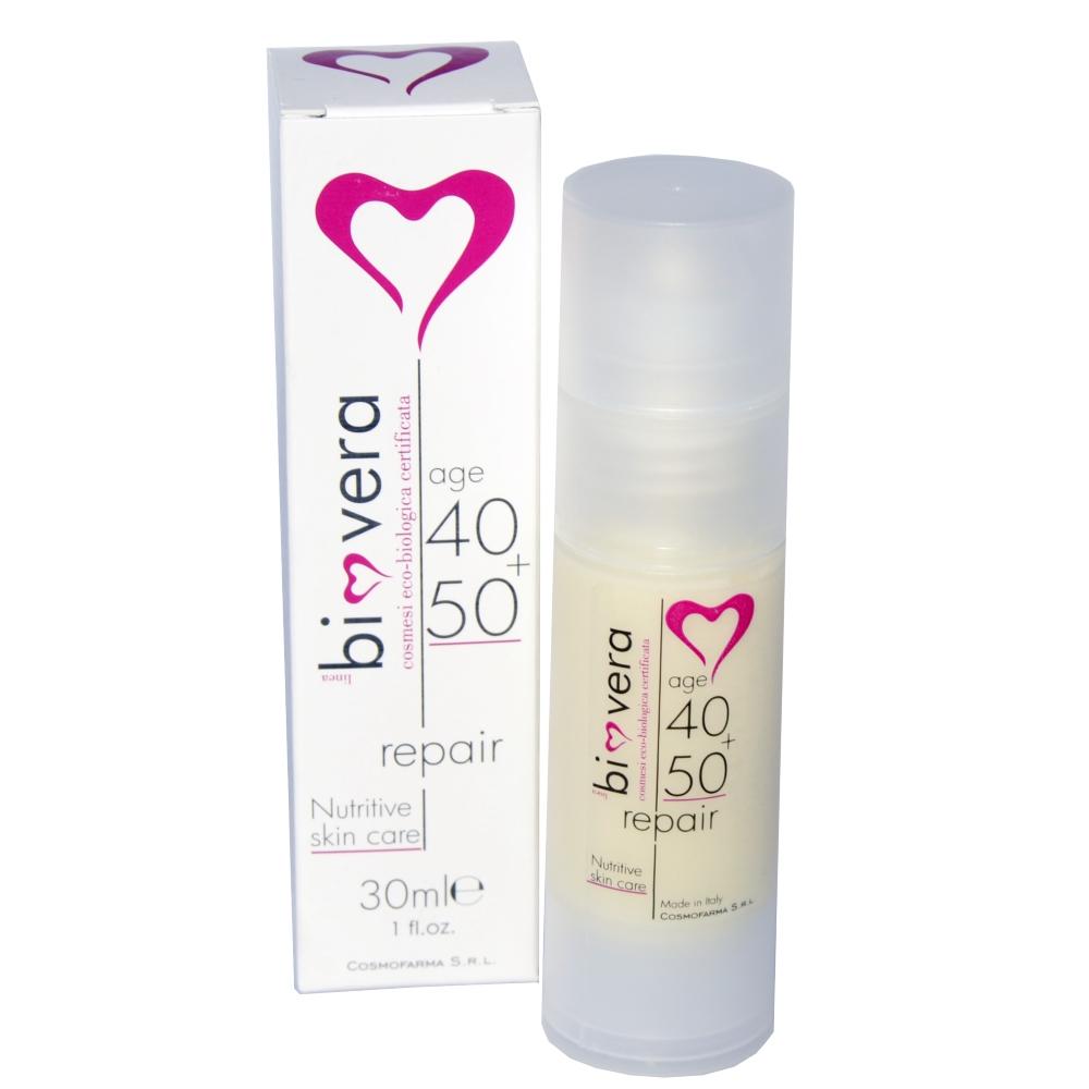 Biovera - Crema per le rughe del viso 40-50+ - PrimoBio