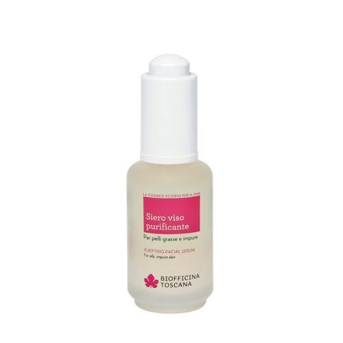 Siero purificante viso per acne e pelle grassa