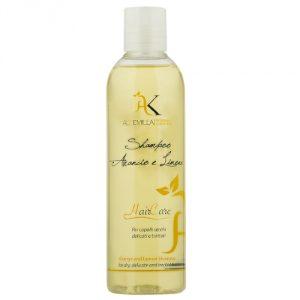 Shampoo capelli secchi Arancio e Limone