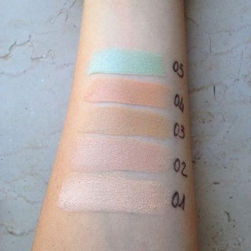 Correttore stick in 5 colorazioni