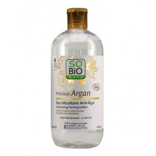 Lozione micellare Argan e Acido Ialuronico