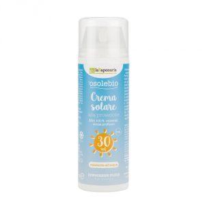 Crema solare 30 e 15 senza filtri chimici La Saponaria