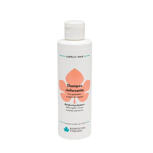Shampoo rinforzante con Pomodoro