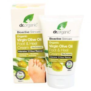 crema piedi e talloni dr organic