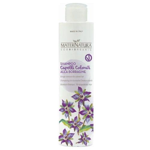 Shampoo per capelli trattati chimicamente alla Borragine