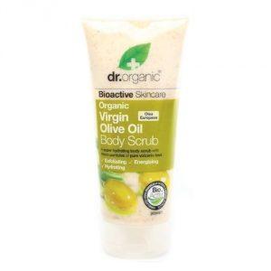 crema esfoliante olio di oliva dr organic