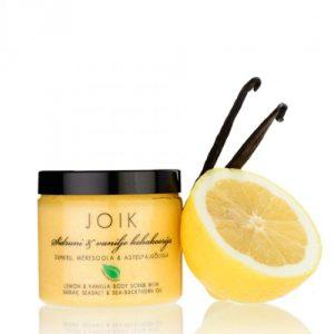 scrub limone & vaniglia joik