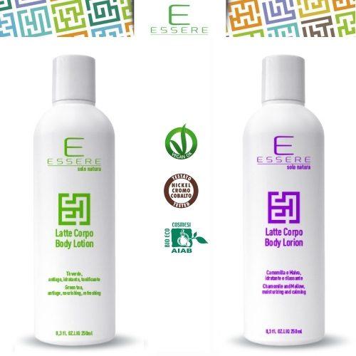 Latte corpo eco bio in 2 versioni