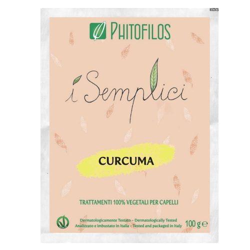 Curcuma in polvere riflessante