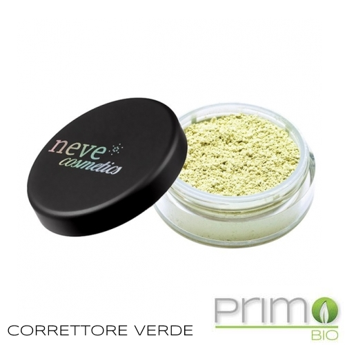 correttore verde neve cosmetics