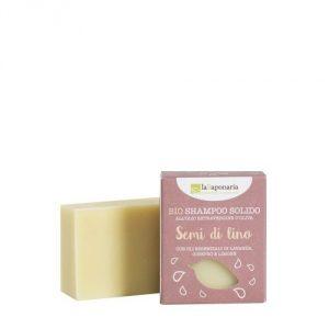 Shampoo solido BIO Semi di Lino La Saponaria