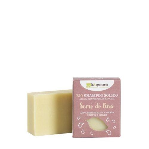 Shampoo solido BIO Semi di Lino