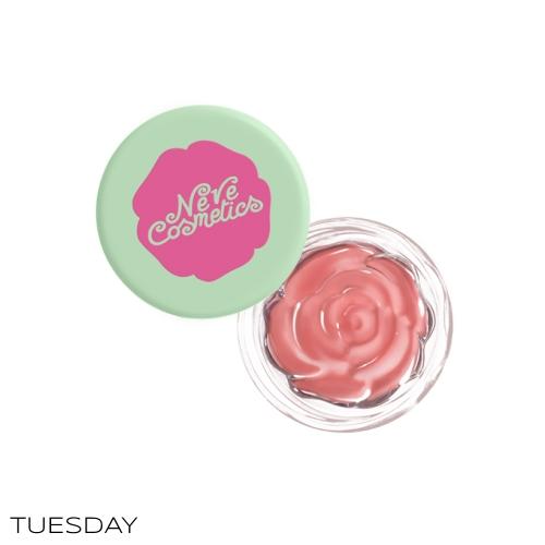 Blush Garden Neve Cosmetics Tuesday