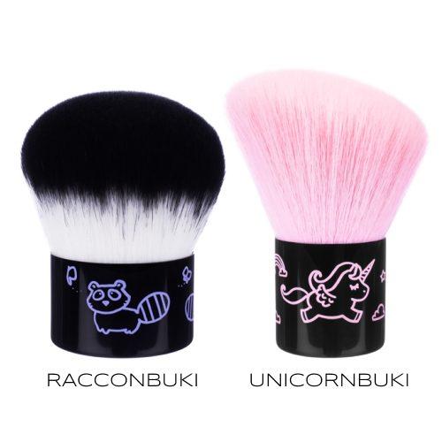 Pennelli Raccoonbuki e Unicornbuki