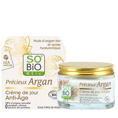 Crema viso Argan e Acido Ialuronico giorno