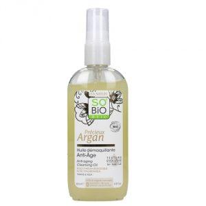 Olio detergente per pelle secca o matura