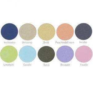 palette scurissimi e chiarissimi neve cosmetics cialde ombretto