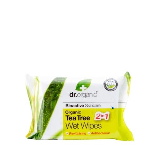 salviette disinfettanti tea tree dr organic