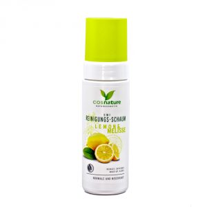 Mousse struccante e detergente Limone e Melissa