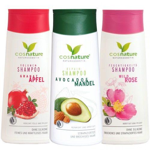Shampoo ecobio economico Melograno, Rosa e Avocado