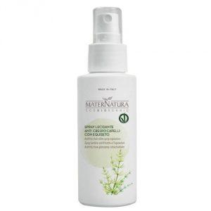 spray lucidante per capelli maternatura