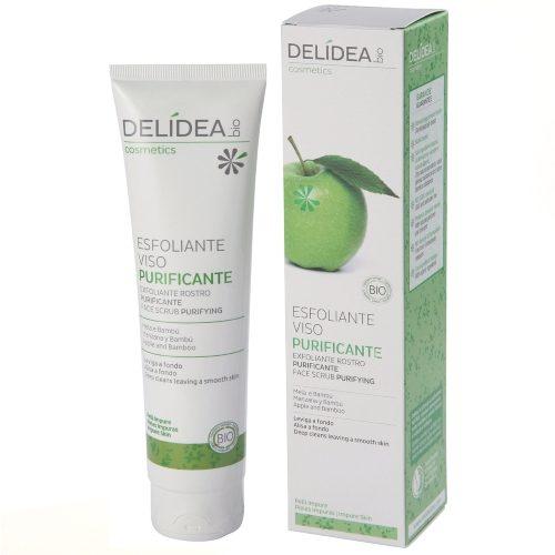 Esfoliante viso purificante Mela e Bambù Delidea