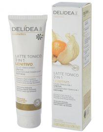 Latte tonico 2 in 1 lenitivo Physalis e Fiori d'Arancio