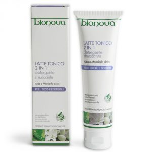 Latte Tonico 2 in 1 Aloe e Mandorla dolce