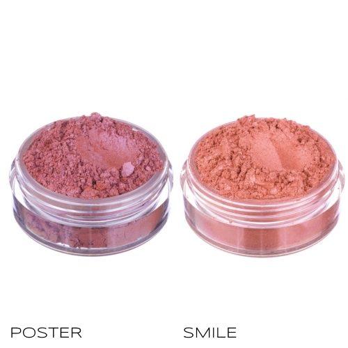 Blush minerali Poster & Smile Neve Cosmetics