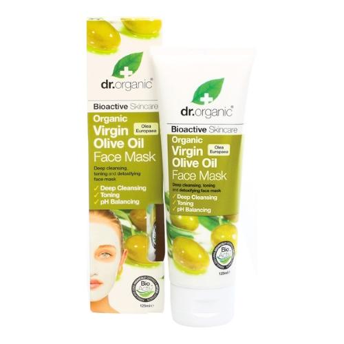 maschera viso olio di oliva e rhassoul dr organic