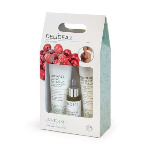 Cofanetto anti-cellulite Pepe Rosa e Lime Delidea