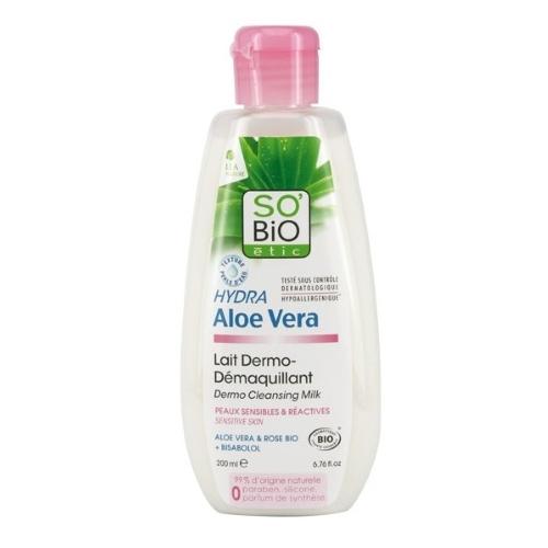 Latte detergente all'Aloe Vera