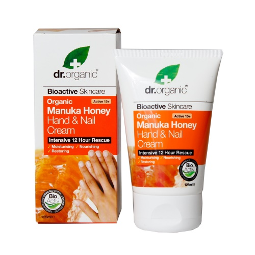 crema mani e unghie al miele di manuka dr organic