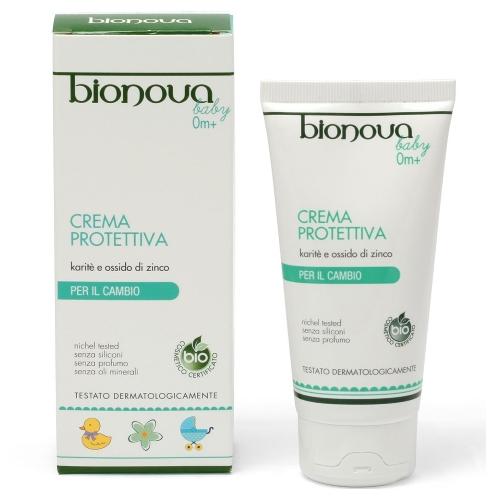 crema protettiva karité e ossido di zinco bimbo bionova
