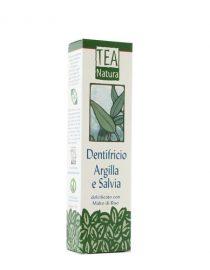 dentifricio argilla e salvia tea natura