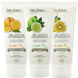 Gel doccia detergente Happy Hour Delidea