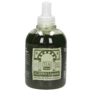 Sapone di Aleppo Liquido 25% Olio di Alloro