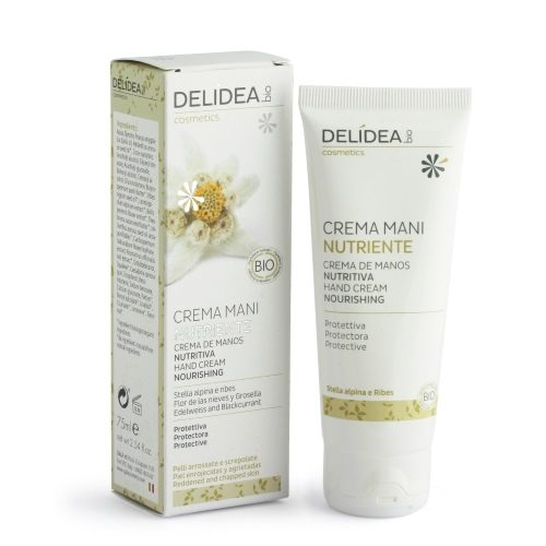 Crema mani nutriente Stella Alpina e Ribes Delidea