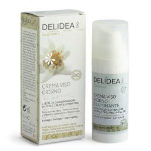 Crema viso giorno illuminante Stella alpina e Ribes