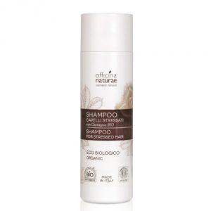 Shampoo per capelli stressati con Castagna bio