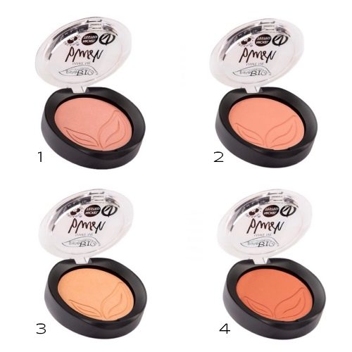Blush in 6 colorazioni