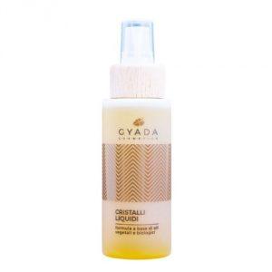 Cristalli liquidi con oli vegetali e biologici Gyada Cosmetics