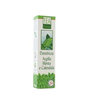 dentifricio argilla e menta tea natura